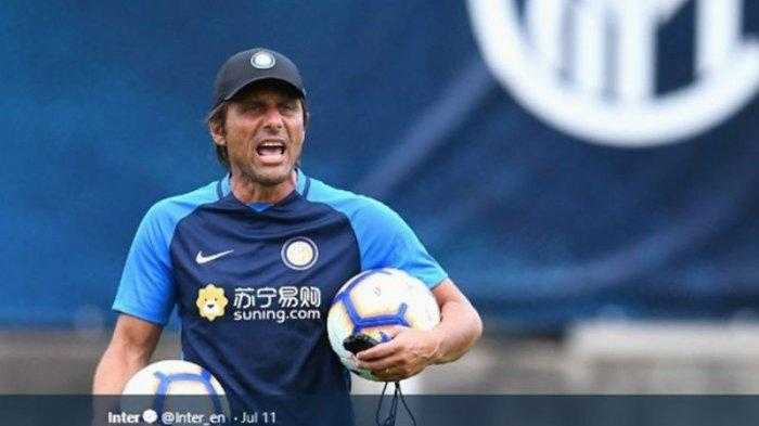 Antonio Conte Puji Skuat AS Roma AS Roma vs Inter Milan